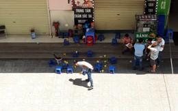Khám nghiệm hiện trường vụ nổ tại quán trà đá chung cư HH Linh Đàm