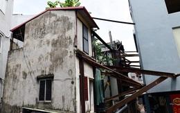 """Mục sở thị những căn nhà phải """"chống nạng thép"""" cạnh chung cư Lilama"""