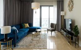 Căn hộ với gam màu trầm rộng 117m² đẹp nổi bật của đôi vợ chồng trẻ đến từ Hong Kong ở quận 2, TP. HCM