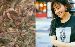 Làm món ăn từ con vật khiến nhiều người khiếp sợ, Văn Mai Hương thấy khổ thân hàng xóm
