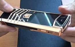 Kẻ trộm nói về điện thoại Vertu giá gần nửa tỷ