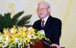 Thông điệp của Tổng bí thư, Chủ tịch nước nhân dịp Việt Nam nhận trọng trách kép