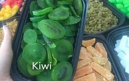 Mứt kiwi, đào giòn, xí muội, ô mai Đà Lạt trôi nổi là hàng Trung Quốc?