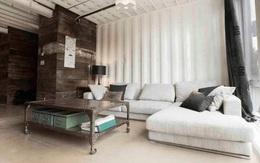 Ngôi nhà tuyệt đẹp được thiết kế từ 4 chiếc container