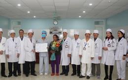 Ca ghép thận từ người cho chết não đầu tiên ở Thanh Hóa đã xuất viện