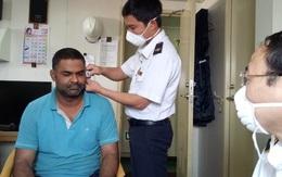 Kiểm tra thân nhiệt những lao động từ Trung Quốc quay lại làm việc tại Formosa