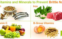 4 loại vitamin và khoáng chất ngăn ngừa móng tay giòn và dễ gãy