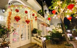Nhìn cách trang trí biệt thự dịp Tết mới thấy cuộc sống xa hoa của cựu người mẫu Việt nổi tiếng nhất nhì thập niên 90