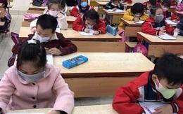 Phòng chống virus corona, các trường học ở Hà Nội cho phép học sinh đeo khẩu trang trong lớp học