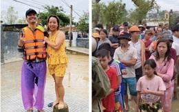 MC Phan Anh mặc kệ bị mỉa mai chuyện cũ, trực tiếp cứu trợ miền Trung