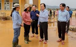 Bộ GD&ĐT kêu gọi các nhà xuất bản, nhà hảo tâm cung cấp sách vở cho học sinh vùng lũ lụt miền Trung