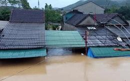 Nghệ An: Bốn người chết, mất tích do mưa lũ, nhiều trường cho học sinh nghỉ học