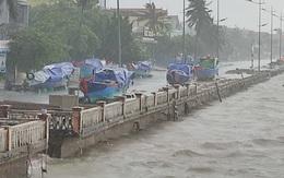 Video: Ảnh hưởng bão số 13, Quảng Bình mưa lớn diện rộng