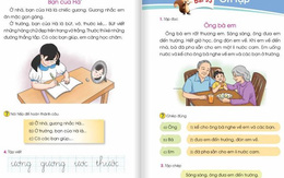"""Người dân """"thở phào"""" khi sách giáo khoa Tiếng Việt 1 bộ Cánh diều đã có dự thảo điều chỉnh"""