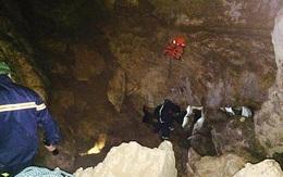 Chưa tìm thấy người mất tích dưới hang sâu hơn 400m khi tìm vàng ở Cao Bằng