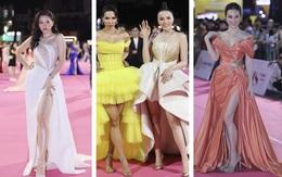 Á hậu Phương Nga lộ chân to, Tiểu Vy và nhiều người đẹp bị cộng tuổi vì váy áo