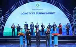 Thương hiệu quốc gia 2020 – Eurowindow được vinh danh lần thứ 5 liên tiếp