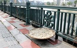 Hải Phòng: Những hình ảnh nhếch nhác khó tin ở phố đi bộ Tam Bạc