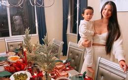 Phạm Hương trang hoàng biệt thự đón Giáng sinh sớm ở Mỹ