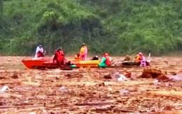 Thông tin mới nhất về việc tìm kiếm người mất tích trong sạt lở đất ở Quảng Nam
