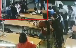 Xem xét khởi tố phụ huynh xông vào lớp đánh học sinh lớp 6 ở Điện Biên