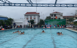 Khai mạc hội thi bơi và kỹ năng phòng, chống đuối nước trẻ em tỉnh Phú Yên năm 2020