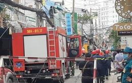 TP.HCM: Nghi nổ bình ga ở quán bún khiến tường nhà vỡ nát