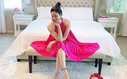 Sau 2 năm qua Mỹ lánh xa thị phi, Hoa hậu Hoàn vũ Phạm Hương giờ ra sao?