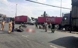 TP.HCM: Va chạm với xe tải, nam sinh viên bị cán tử vong thương tâm