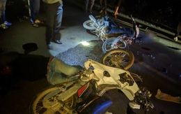 Hà Tĩnh: Hai xe mô tô đối đầu, 1 người chết, 1 người trọng thương