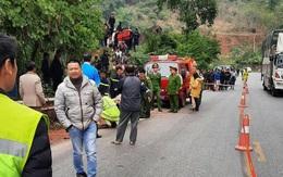 Xe tải lao xuống vực sâu 250 mét khiến 3 người thương vong