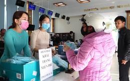 Tập đoàn dệt may Việt Nam phát hơn 100 nghìn khẩu trang kháng khuẩn tới người dân
