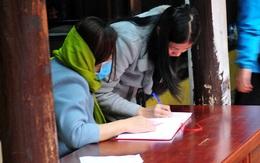 Tránh lây nhiễm virus corona, chùa Phúc Khánh thưa thớt người đến đăng ký làm lễ cầu an