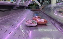 Siêu thị tăng lượng hàng 2-3 lần, kệ rau củ, thịt cá vẫn trống trơn