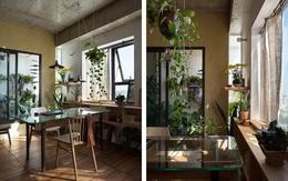 Căn hộ chung cư ở Hà Nội hy sinh phòng ngủ lấy cây xanh và nắng
