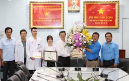 """Đội phản ứng nhanh Phòng chống dịch COVID-19 của Bệnh viện Chợ Rẫy được thưởng """"nóng"""""""