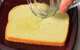 Đổ giấm vào bánh mỳ rồi quẳng vào thùng rác và đậy nắp lại, kết quả thu được khiến ai cũng gật gù khen hay