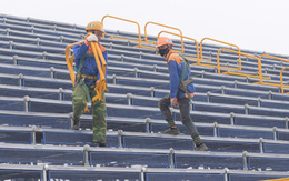 Hoãn chặng đua F1, nhiều khu vực khán đài được tạm tháo dỡ