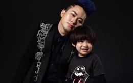 Con trai Tùng Dương hơn 4 tuổi đã lộ cá tính lẫn phong cách giống bố như đúc