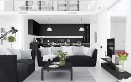 Trang trí phòng khách bằng cặp màu cổ điển này đảm bảo 10 người đến chơi 9 người khen