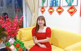 Sở hữu căn hộ 60m², vợ đảm Đắk Lắk thiết kế theo tông màu vàng đẹp mê ly với chi phí 100 triệu