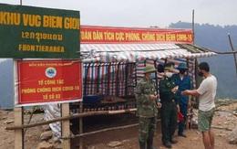 Bộ đội biên phòng Nghệ An canh dịch trên biên giới