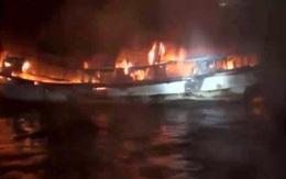 Hai lao động ở Hà Tĩnh mất tích trong vụ cháy tàu cá ở Hàn Quốc