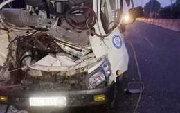 Xe tải tông vào đuôi máy cày khiến 2 người tử vong, 1 người bị thương