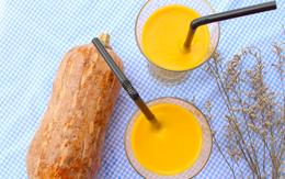 Cách làm món sữa bí đỏ thơm ngon, bổ dưỡng đang hót hòn họt trên các mạng xã hội