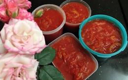 Sai lầm khi bỏ ngăn đá dự trữ khiến cà chua nấu ra toàn nước, mẹ đảm bày cách cấp đông chuẩn giúp nấu tươi ngon như mới mua về