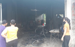 """Một gia đình ở Hà Tĩnh nghi bị kẻ xấu ném """"bom"""" xăng vào nhà"""