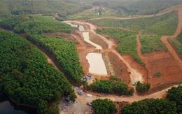 """Huyện Can Lộc, Hà Tĩnh: San đồi, đào ao hồ… xây khu sinh thái """"chui"""" trên đất rừng"""