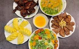 Thực đơn bữa cơm ngày hè thơm ngon, đủ chất