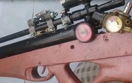 Bắt đối tượng dùng súng tự chế vô cớ bắn người đi đường